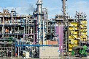 Huntsman Chemical Factory